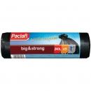 ПАКЕТ ДЛЯ МУСОРА 240л 140*112 ПВД черн. (5шт/уп) PACLAN Big&Strong /21