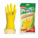 ПЕРЧАТКИ РЕЗИНОВЫЕ PACLAN UNIVERSAL желтые М /100