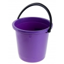 Ведро 7л фиолетовое без кр
