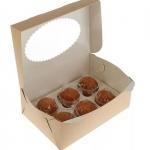 Коробка для маффинов ECO MUF 6, 250*170*100  25/150