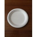 Тарелка десертная Д-172мм Н-17мм белая сахарный тросник 550шт/упак /1000